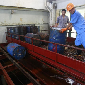 四川原油回收