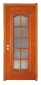 实木复合玻璃门