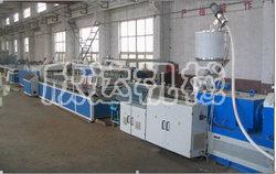 PVC木塑微发泡门板生产线