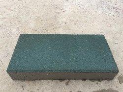 墨绿色粗面环保型透水砖