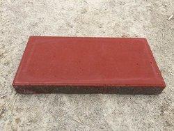 细面鲜红环保型透水砖
