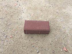 暗红细面通体透水砖