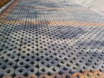双8字植草砖工程