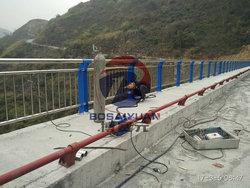 晴隆西泌河大橋橋梁護欄施工