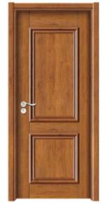 高档实木扣线门