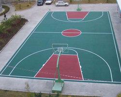 西安某小区室外篮球场