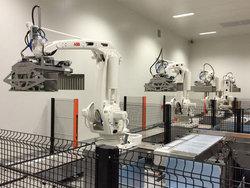 工業機器人搬運方案
