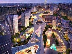 商業項目-蘭州綠地金融智慧城