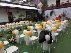 戶外婚禮現場